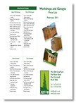 Just Fir Garages brochure