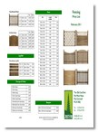 Just Fir Fencing brochure