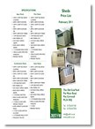 Just Fir Sheds brochure